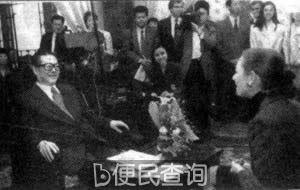 江泽民接受美国有线新闻采访