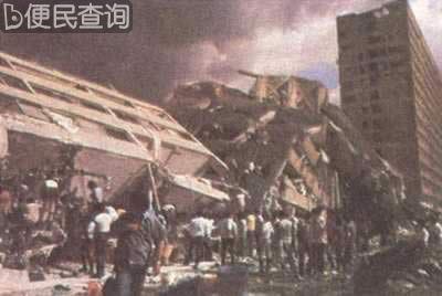 墨西哥发生大地震数千人丧生