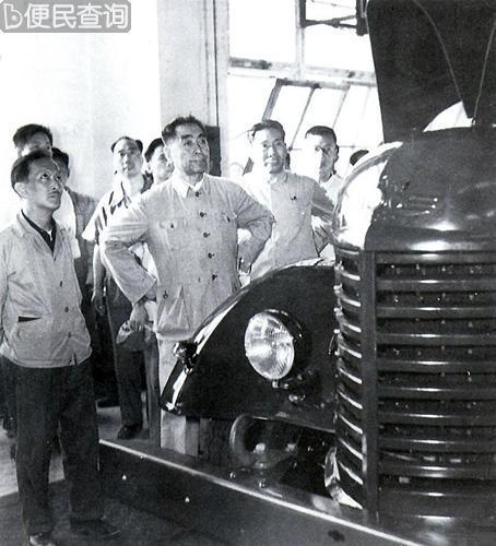 我国第一批解放牌汽车试制成功